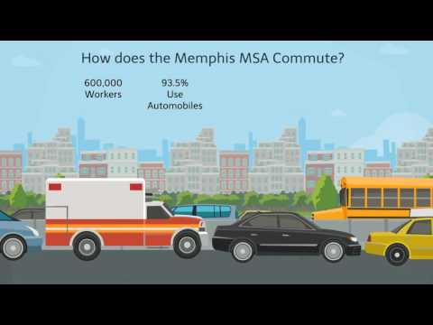 Commuting in the Memphis MSA