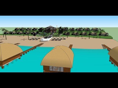 Angola Beach estates resort park Luxury  Bantu Mussolo Paradise