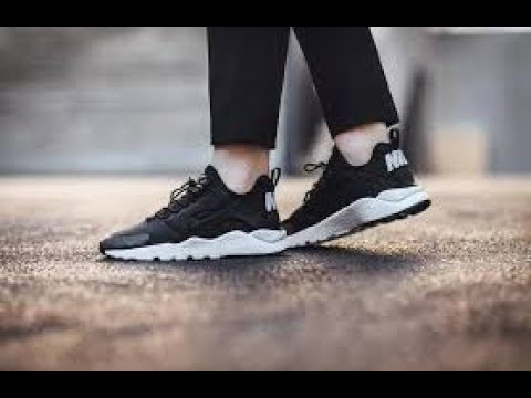 1d8fdad126da Ioffer - Nike Women Air Huarache Run Ultra   On Feet - YouTube