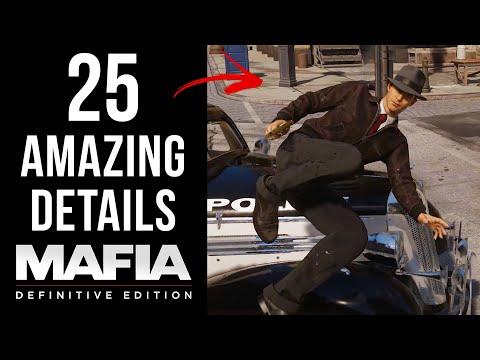 25 AMAZING Details in Mafia: Definitive Edition