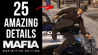 25 AMAZING Details in Mafia: Definitive Edition