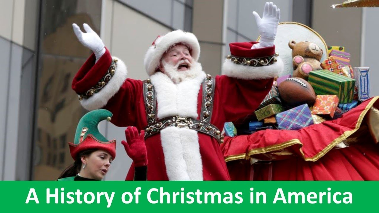 Learn English With Voa News A History Of Christmas In America