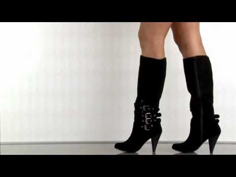 Naughty Monkey Concur Boot in Black