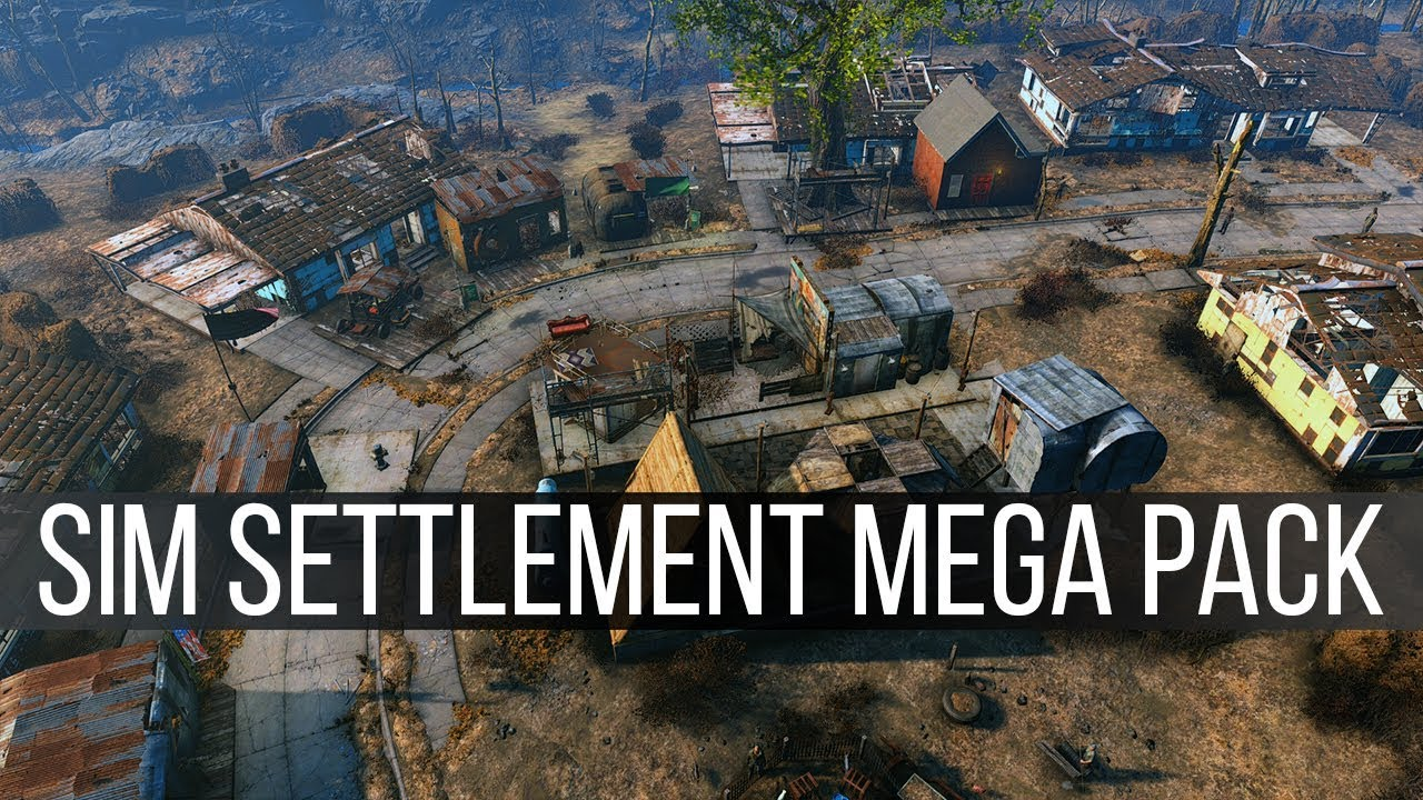 Sim Settlement Mega Pack - Fallout 4 Mods Weekly - Week 93 (PC/Xbox One) by  JuiceHead