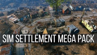 Sim Settlement Mega Pack - Fallout 4 Mods Weekly - Week 93 (PC/Xbox One)