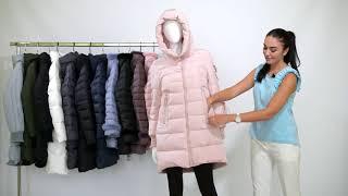 Обзор зимней курточки Clasna CW18D716CW. Jacket winter for women review Clasna 2018-2019.