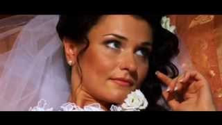 Мorning of the bride. Wedding video. A beautiful bride. Russian beauties