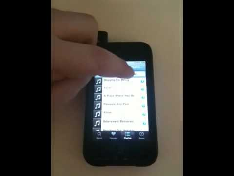 Grooveshark iPhone app error