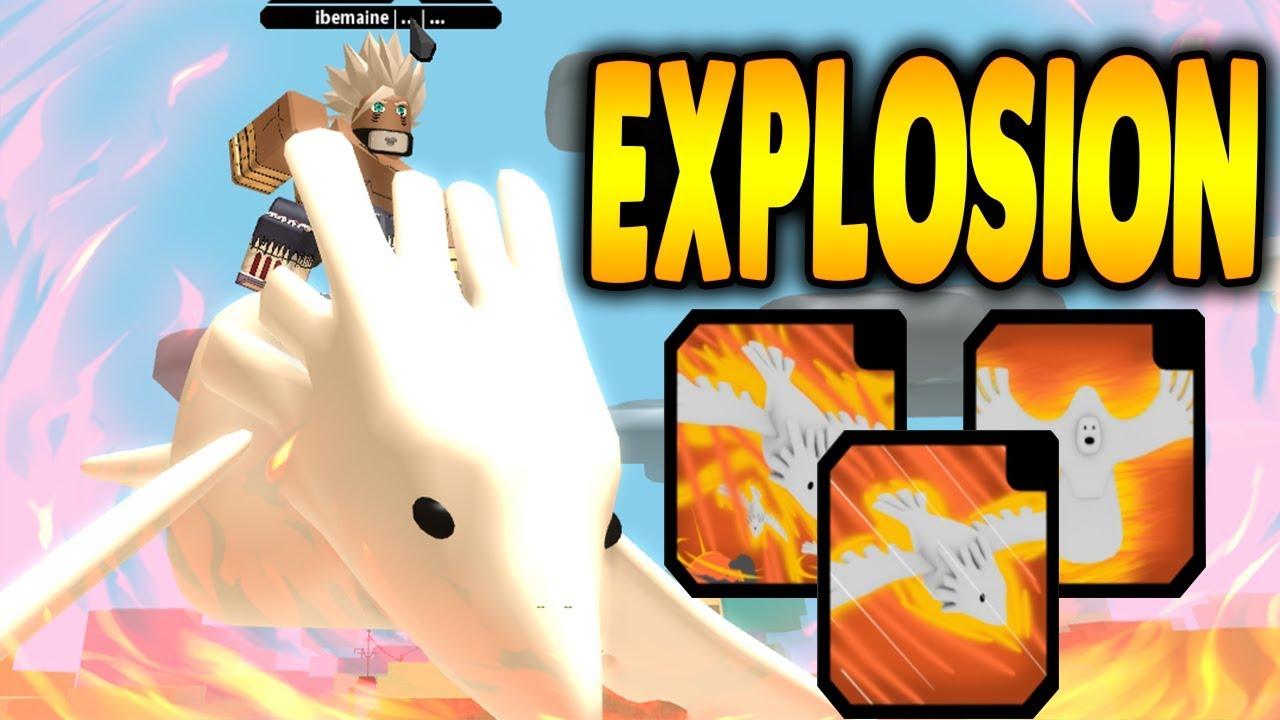 DEIDARA EXPLOSION KG IS TOO POWERFUL! | NRPG BEYOND IN ROBLOX | iBeMaine