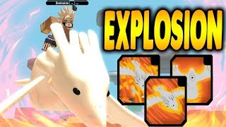 DEIDARA EXPLOSION KG IS TOO POWERFUL! | NRPG BEYOND IN ROBLOX | iBeMaine