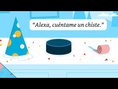 ¡Diviértete con Alexa!