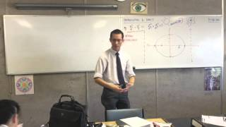 Introduction to Conics (4 of 8: Link between the distance from directrices and foci to a point)