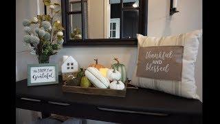 Fall Decor 2019   Entryway Decorating