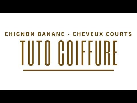 tutoriel chignon banane