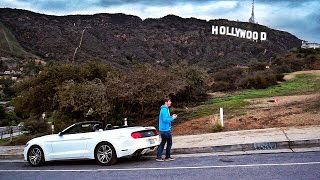 Drohnen Drive-By in den Hollywood Hills!