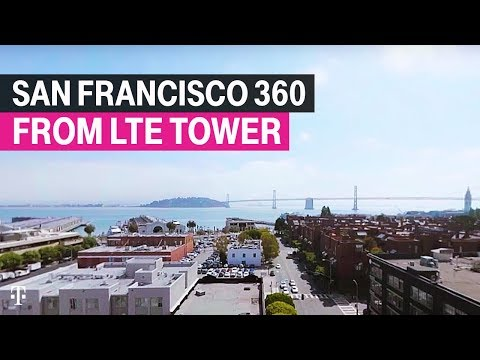 T-Mobile | San Francisco 360 from LTE Tower