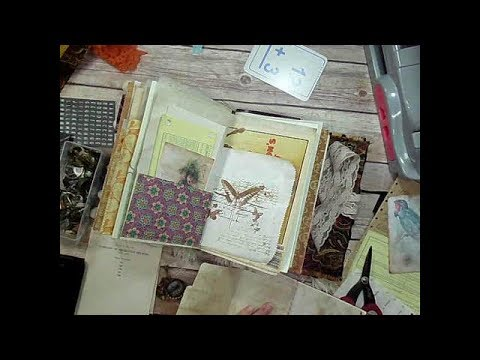 How to Make a Bohemian Junk Journal