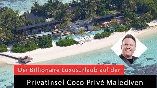 Malediven, Privatinsel, Coco Prive, Luxusinsel, Promiurlaub, Billionaire