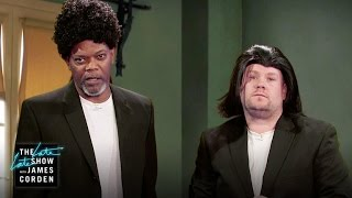 Samuel L. Jackson Acts Out His Film Career w/ James Corden thumbnail