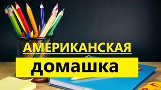 АМЕРИКАНСКАЯ ДОМАШКА / Уроки в 8 классе в Америке Что у Димы в байндере