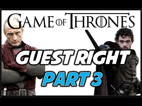 Guest Right: Part 3 - Consequences of Breaking Guest Right