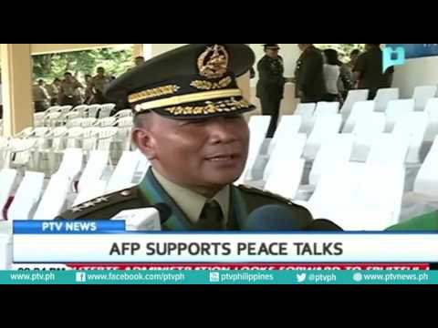 AFP supports Peace Talks