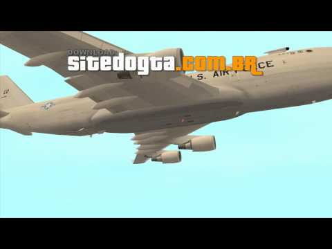 Boeing YAL-1 Laser Testbed GTA San Andreas
