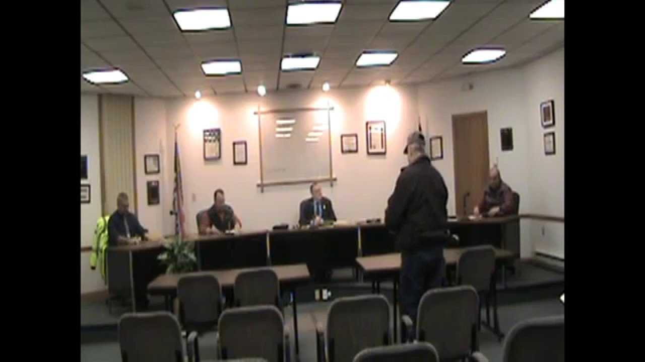 Rouses Point Village Board Meeting  1-4-16