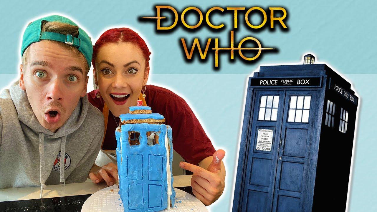 DOCTOR WHO BAKING WITH JOE & DIANNE - #StayingintheTardis