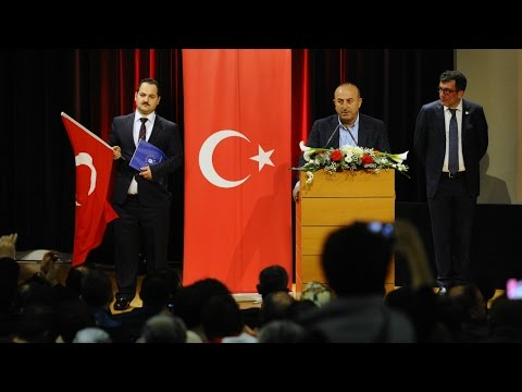 France under fire for authorising Turkish campaign event