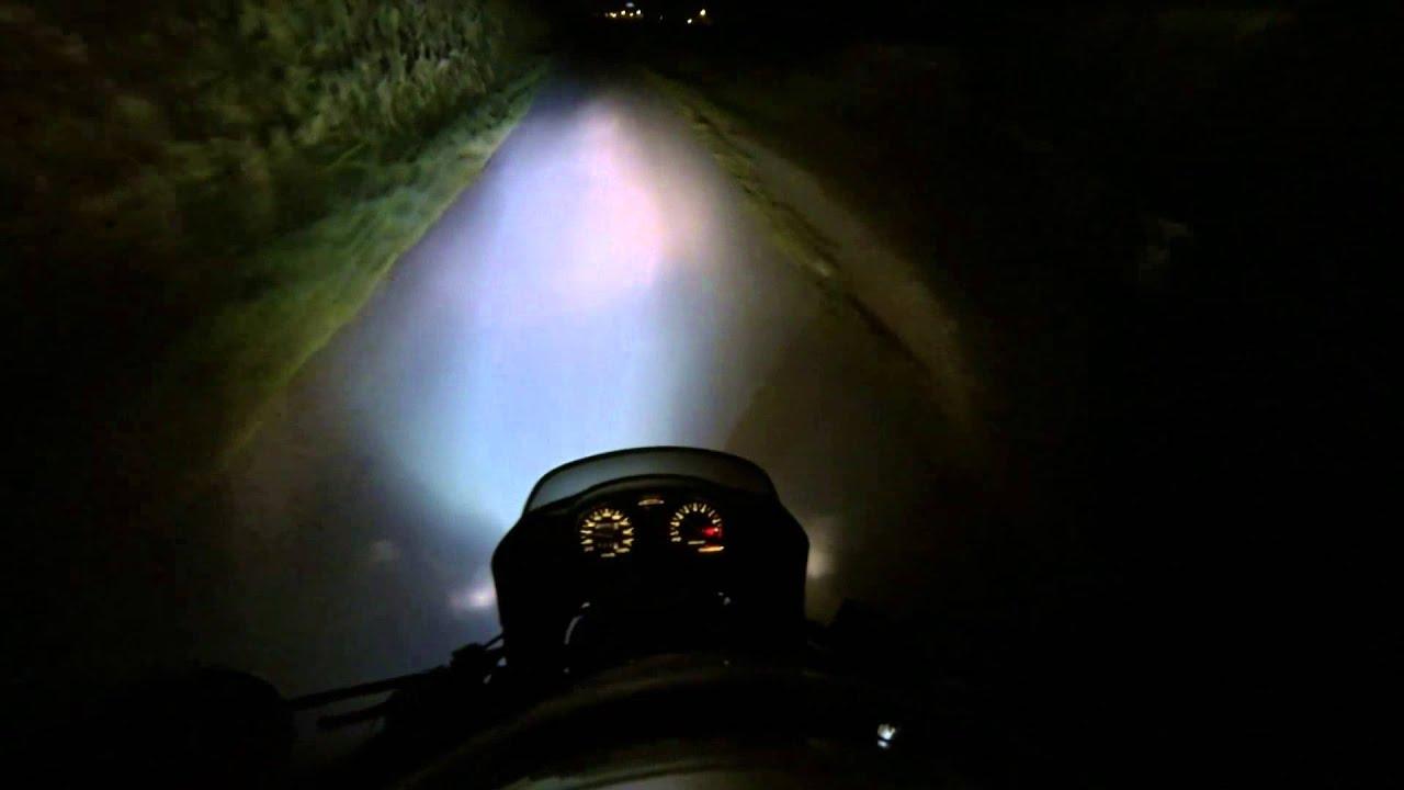 FARO ANTERIORE SUPPLEMENTARE A LED 12V 24V 10W 6000K MOTO