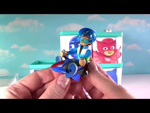 PJ Masks  Surprise Blind Boxes! Disney Jr  Owlette, Catboy, Gekko, Romeo
