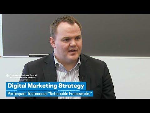 "Digital Marketing Strategy: Participant Testimonial ""Actionable Frameworks"""