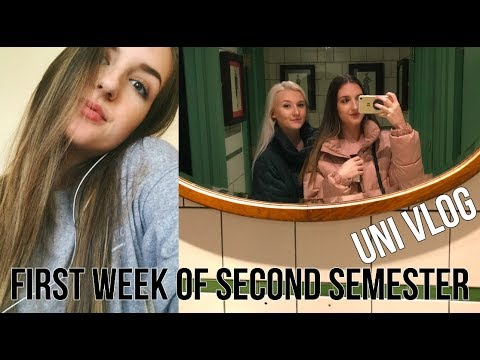 UNI WEEK IN MY LIFE: NEW MODULES + FRIENDS COME TO VISIT | Alice Walters