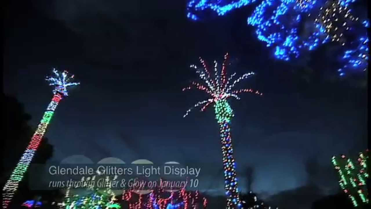 Glendale Glitters 2014 Light Preview - YouTube