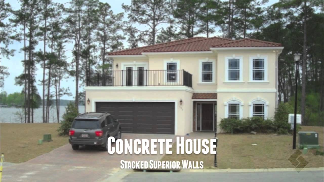 Superior walls above grade wall system youtube for Www superiorwalls com