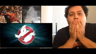 ghostbusters official trailer announcement 2016 kristen wiig bill mirray reaction