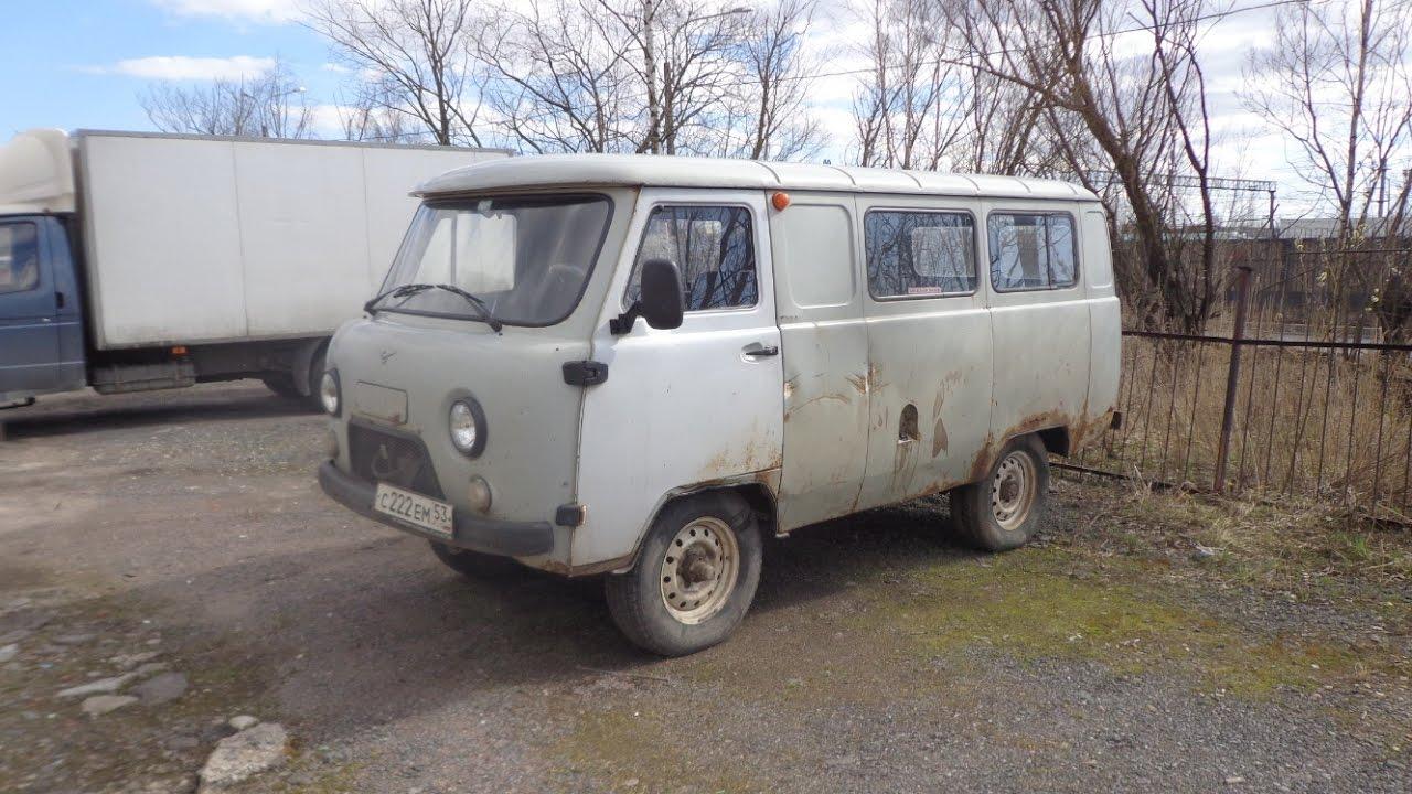 """УАЗ-396254 - """"санитарка"""" - обзор внутри"""