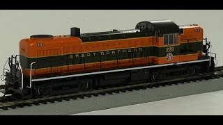Overview/Demo: Bachmann RS-3 in HO scale