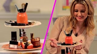 DIY Makeup Stand | Lazy Girls' Guide To Beauty