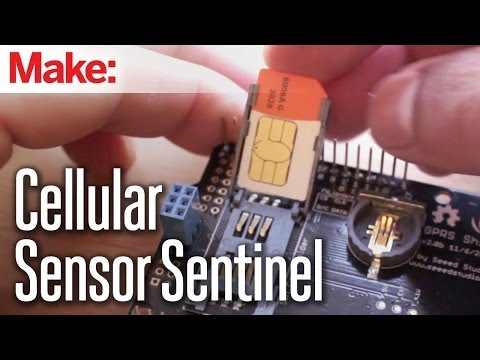 Weekend Projects - Cellular Sensor Sentinel