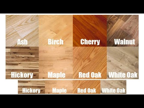 Hardwood Flooring Type of Wood