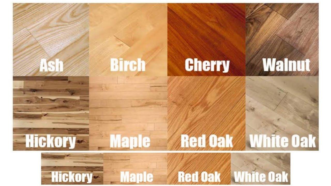 Hardwood Flooring Type Of Wood You
