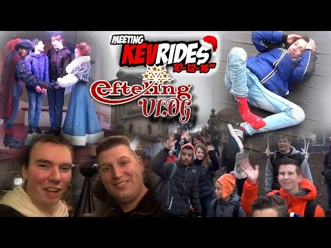 WINTER EFTELING VLOG - KEVRIDES MEETING MET Z'N ALLEN IN DE VOGELROK!