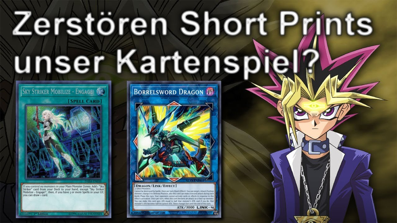 Yu Gi Oh Zerstoren Short Prints Unser Kartenspiel Youtube