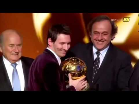 Fifa Ballon D'or: Tribute to Lionel Messi
