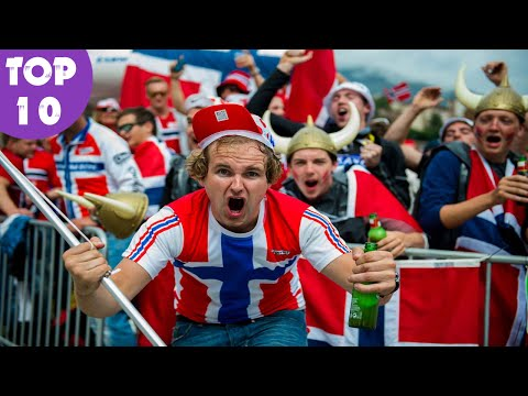 TOP 10 Awesome Facts About Norway - Norway Facts With Sources !