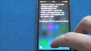 iPhone 5S - Siri lustige Antworten