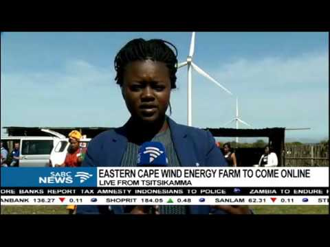Eastern Cape wind energy farm to come online