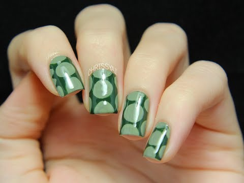 Quot Turtle Shell Quot Nail Art Tutorial Youtube